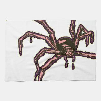 La araña toallas de mano