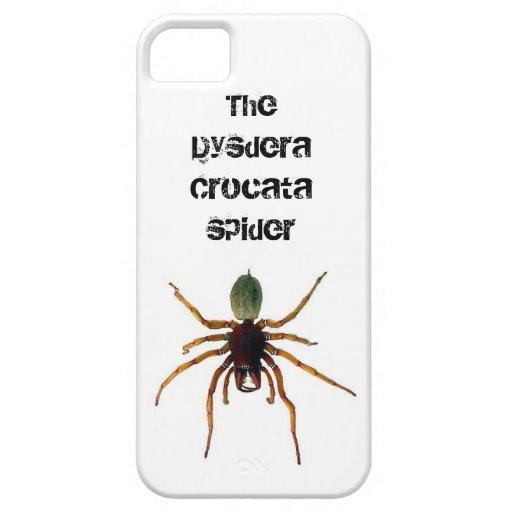 La araña v1 de Dysdera Crocata iPhone 5 Funda