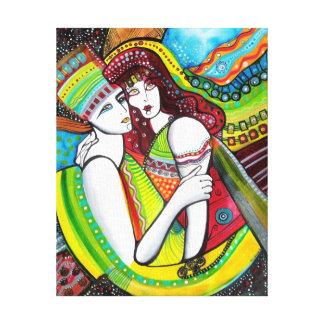La arca de amor impresión en lienzo