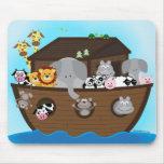 La arca de Noah Alfombrillas De Ratón