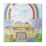 La arca de Noah Azulejos
