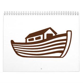 La arca de Noah Calendario De Pared