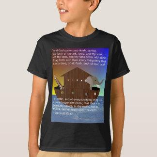 La arca de Noah (con escritura) embromó la Camisas