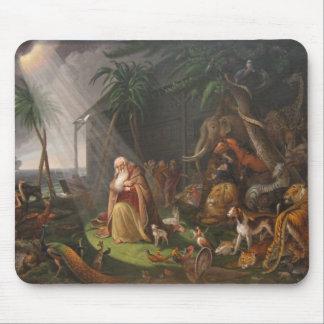 La arca de Noah de Charles Wilson Peale - circa 18 Tapetes De Ratón