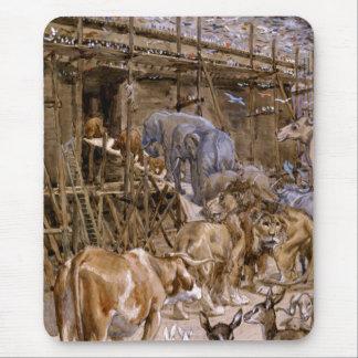 La arca de Noah de James Tissot Alfombrilla De Raton