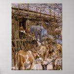 La arca de Noah de James Tissot - circa 1900 Impresiones