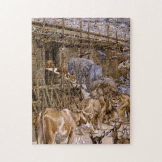 La arca de Noah de James Tissot - circa 1900 Rompecabeza Con Fotos