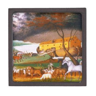 La arca de Noah de los catetos de Edward Cajas De Joyas De Calidad