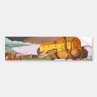La arca de Noah de los catetos de Edward Pegatina Para Coche