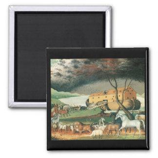 La arca de Noah de los catetos de Edward Imán Cuadrado