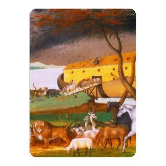 """La arca de Noah de los catetos de Edward Invitación 5"""" X 7"""""""