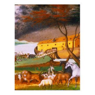 La arca de Noah de los catetos de Edward Postales
