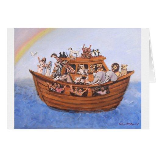 La arca de Noah Felicitaciones