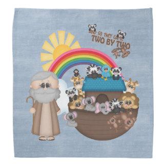 La arca de Noah hermoso del bebé Bandanas