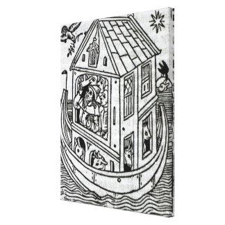 La arca de Noah Lona Estirada Galerías