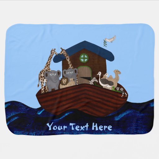 La arca de Noah Mantas De Bebé