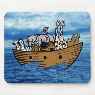 La arca de Noah Mouse Pads