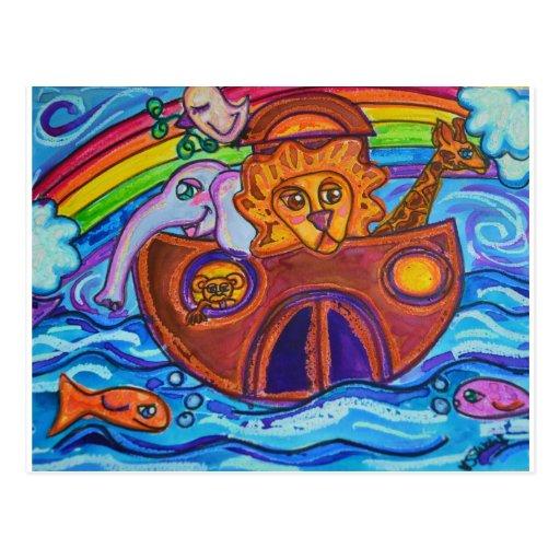 La arca de Noah Postales