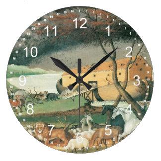 La arca de Noah Reloj Redondo Grande