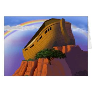 La arca de Noah Tarjetas