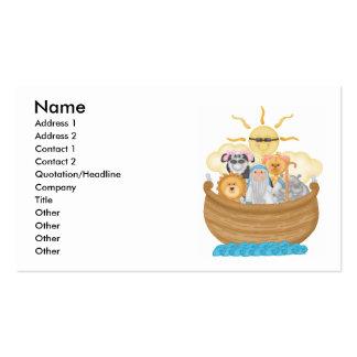 La arca de Noah Tarjetas De Visita