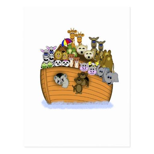 La arca de Noah Tarjeta Postal