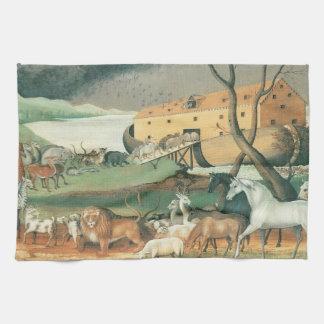 La arca de Noah Toalla De Mano