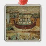 La arca durante la inundación, c.1100 de Noah Ornamente De Reyes
