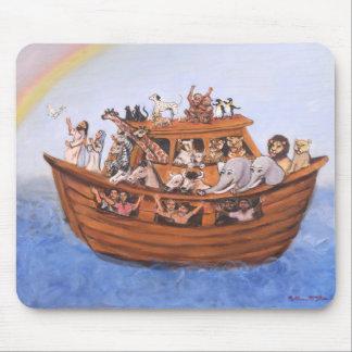 La arca Mousepad de Noah Alfombrillas De Ratón