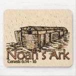 La arca Mousepads de Noah Alfombrillas De Ratones