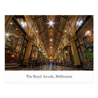 La arcada real Melbourne Victoria Australia Postales