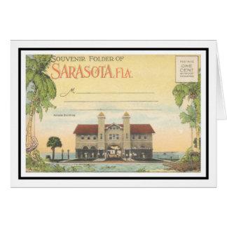 La arcada Sarasota, la Florida de la libración Tarjeta De Felicitación