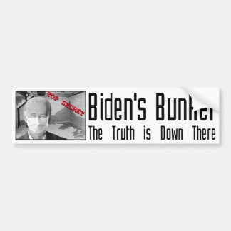 La arcón de Biden:  La verdad está abajo allí Pegatina Para Auto