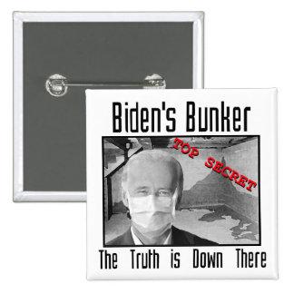 La arcón de Biden:  La verdad está abajo allí Pin Cuadrada 5 Cm