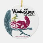 La ardilla de la pintura, Winkelhimer Smith Adornos De Navidad