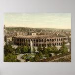La arena, Verona, Italia Poster