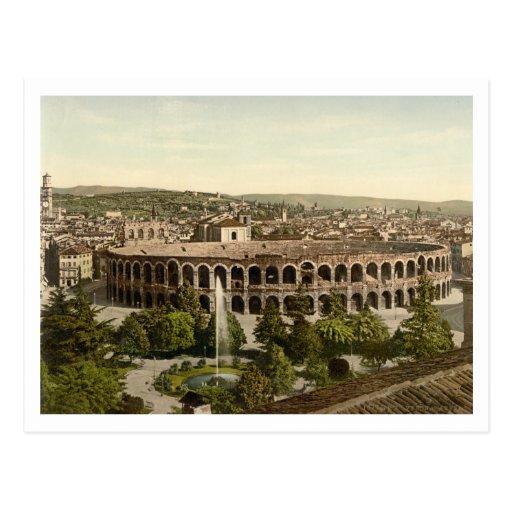 La arena, Verona, Italia Tarjeta Postal