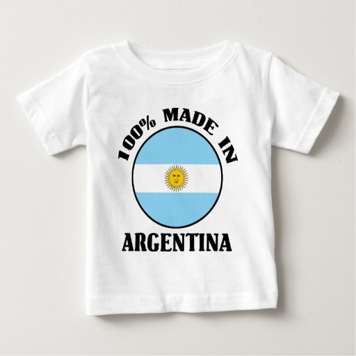 La Argentina 100% Playera Para Bebé