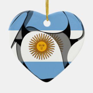 La Argentina 1 Ornamento Para Arbol De Navidad