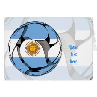 La Argentina #1 Tarjeta De Felicitación