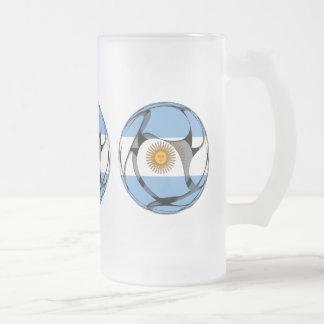 La Argentina #1 Taza De Cristal