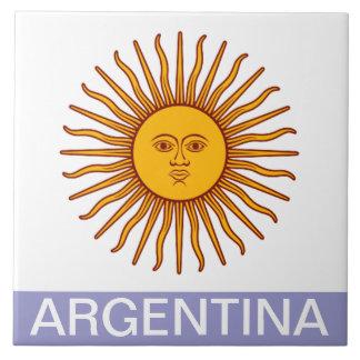 LA ARGENTINA AZULEJO CUADRADO GRANDE