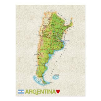 ♥ la Argentina de las POSTALES del MAPA