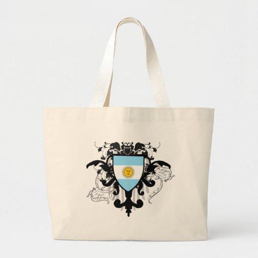 La Argentina elegante Bolsas Lienzo