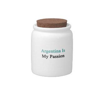 La Argentina es mi pasión Platos Para Caramelos