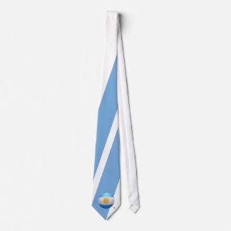 La Argentina - fútbol de Albiceleste del La Corbatas Personalizadas