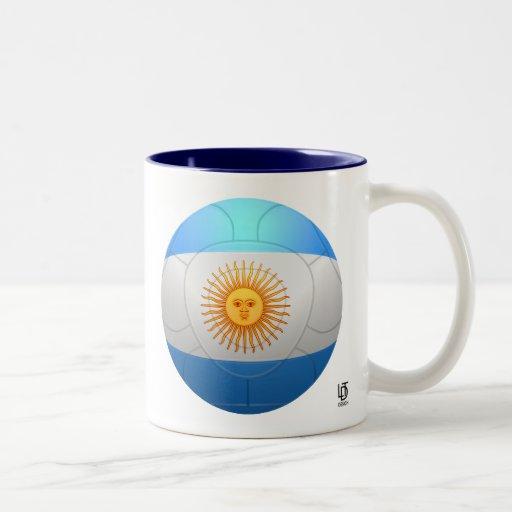 La Argentina - fútbol de Albiceleste del La Taza Dos Tonos