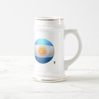 La Argentina - fútbol de Albiceleste del La Tazas De Café