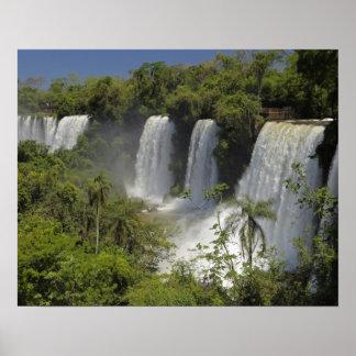 La Argentina, Iguacu cae en sun. Póster