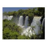La Argentina, Iguacu cae en sun. Tarjeta Postal
